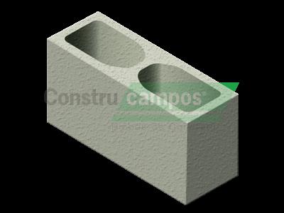 Bloco Estrutural Classe A 14x19x39 - ConstruCampos