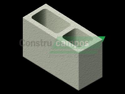 Bloco Estrutural Classe A 14x19x34 - ConstruCampos