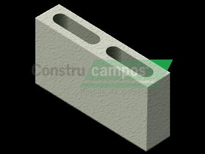 Bloco Estrutural Classe C (vedação) 09x19x39 - ConstruCampos
