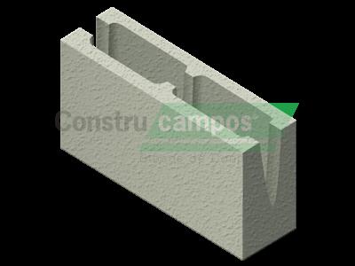 Canaleta 09x19x39 - ConstruCampos