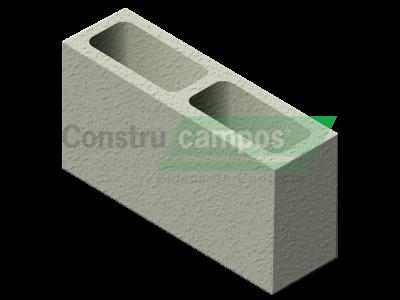 Meio Bloco Estrutural Classe C (vedação) 11,5x19x19 - ConstruCampos