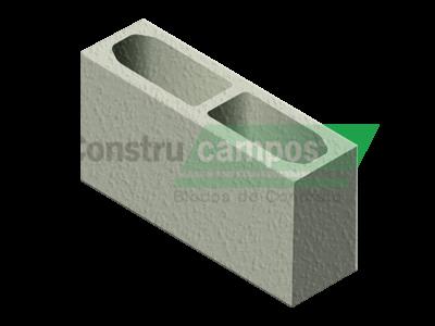 Bloco Estrutural Classe C (vedação) 14x19x39 - ConstruCampos
